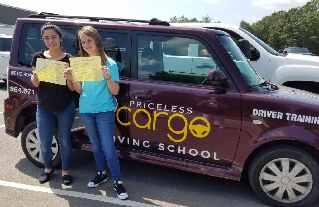 Priceless Cargo Driving School Students