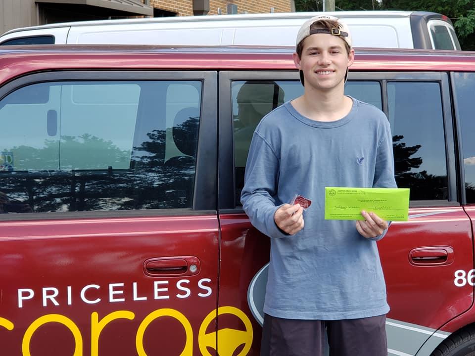 Priceless Cargo Driving School happy Student