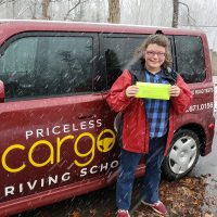 Priceless Cargo Driving School Student Anna