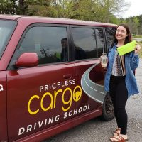 Priceless Cargo Driving School Student